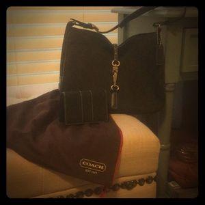 Coach mini hobo & wallet